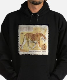Russian Tiger Stamp Hoodie