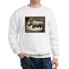 black rhinoceros Sweatshirt