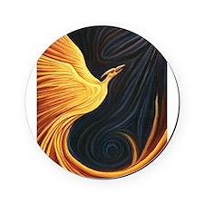 Phoenix Rising Cork Coaster