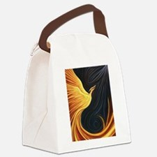 Phoenix Rising Canvas Lunch Bag