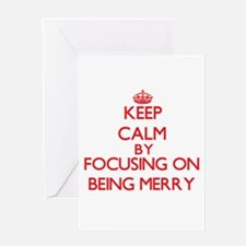 Being Merry Greeting Cards