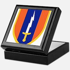 1st Signal Brigade Insignia.png Keepsake Box