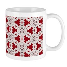 Kaleidoscope Coffee Mug - Christmas Lace 1