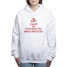 Being Misplaced Women's Hooded Sweatshirt