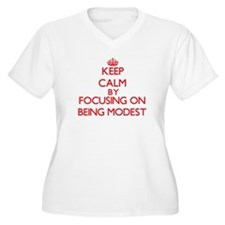 Being Modest Plus Size T-Shirt