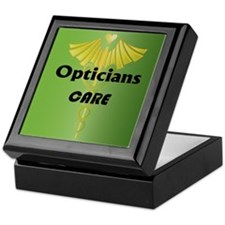 Opticians Care Keepsake Box