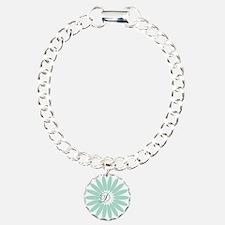 Cute Mint Monogram Bracelet