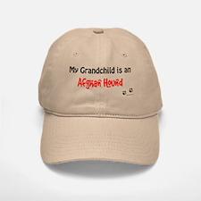 Afghan Hound Grandchild Baseball Baseball Cap