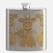 Giraffes Flask