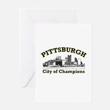 Pittsburgh . . . City of Cham Greeting Cards (Pack