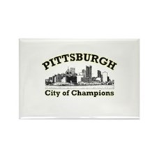 Pittsburgh . . . City of Cham Rectangle Magnet