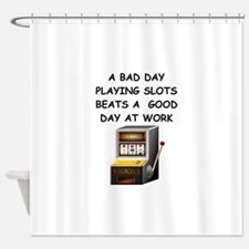 SLOT2 Shower Curtain