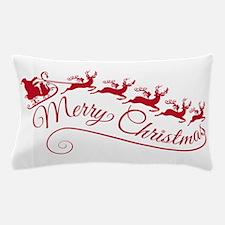 Santa Claus with his sleigh Pillow Case