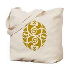 Celtic Oval Gold Design Tote Bag