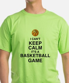Can't Keep Calm Basketball T-Shirt