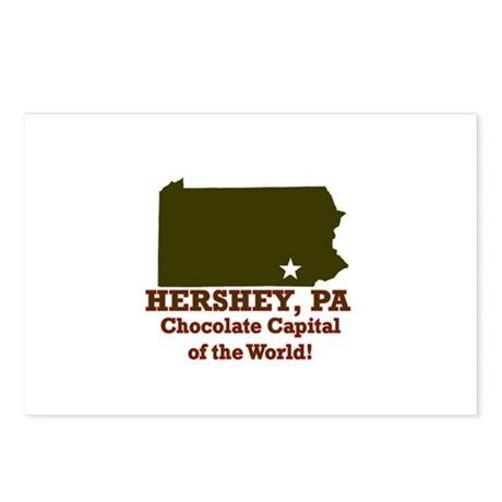 Hershey, Pennsylvania . . . C Postcards (Package o