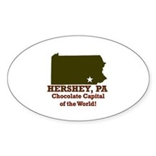 Hershey, Pennsylvania . . . C Oval Decal