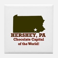 Hershey, Pennsylvania . . . C Tile Coaster