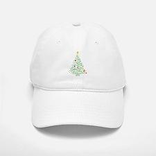 Swirly Christmas Tree Cap