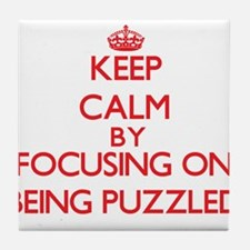 Being Puzzled Tile Coaster