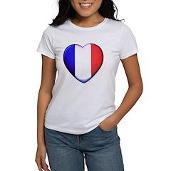 My French Heart Women's T-Shirt