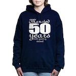 Married 50 years Women's Hooded Sweatshirt