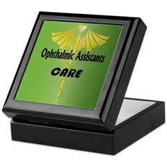 Ophthalmic Assistants Care Keepsake Box