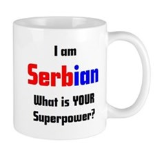 i am serbian Small Mug
