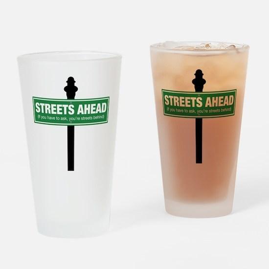 Streets Ahead Drinking Glass