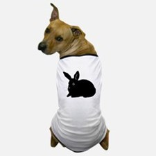 Bunny Silhouette Dog T-Shirt