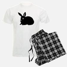 Bunny Silhouette Pajamas
