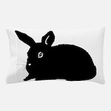 Bunny Silhouette Pillow Case