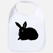 Bunny Silhouette Bib