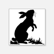 Bunny Silhouette Sticker