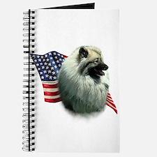Keeshond Flag Journal