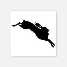 Hare Silhouette Sticker