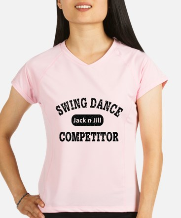 Swing Dance Jack and Jill Performance Dry T-Shirt