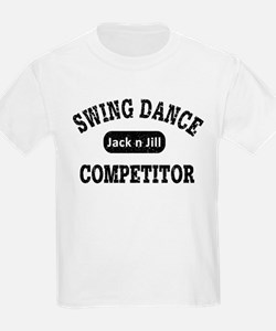 Swing Dance Jack and Jill Competitor T-Shirt