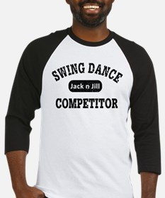 Swing Dance Jack and Jill Competit Baseball Jersey