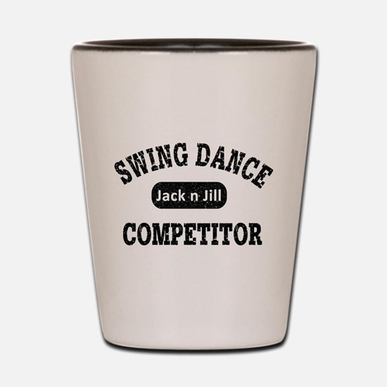 Swing Dance Jack and Jill Competitor Shot Glass