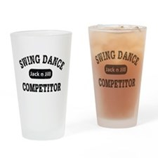 Swing Dance Jack and Jill Competito Drinking Glass
