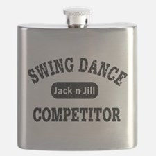 Swing Dance Jack and Jill Competitor Flask