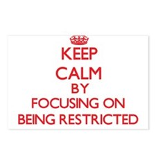 Being Restricted Postcards (Package of 8)