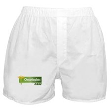 Oncologists Care Boxer Shorts