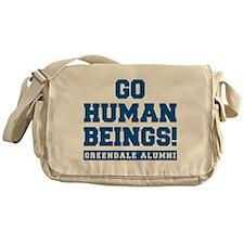 Go Human Beings Messenger Bag