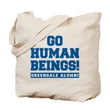 Go Human Beings Tote Bag