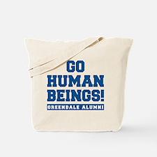 Go Human Beings Tote Bag