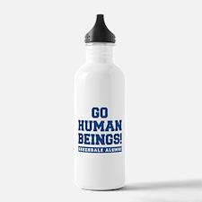 Go Human Beings Water Bottle