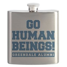 Go Human Beings Flask