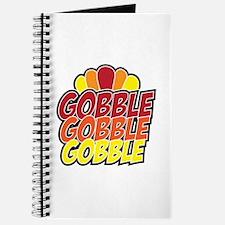Gobble Gobble Gobbe Thanksgiving Day Journal